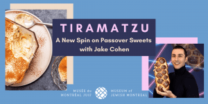 Tiramatzu: A New Spin on Passover Sweets with Jake Cohen