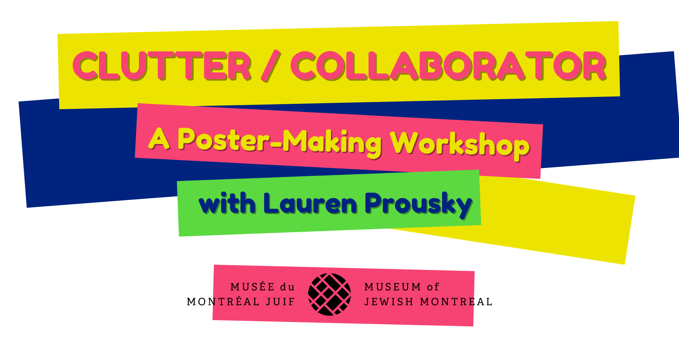 Banner for workshop with Lauren Prousky