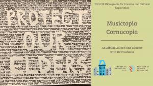 Dvir's Musictopia Cornucopia event banner